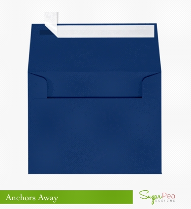 SugarPea Designs ANCHORS AWAY Envelopes SPD-00233 Preview Image