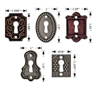 Tim Holtz Idea-ology KEYHOLES Key Hardware Altered Art Metal  TH92718 zoom image