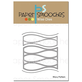Paper Smooches WAVY PATTERN Wise Dies A2D402