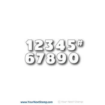 Your Next Die BOLD NUMBERS YNSD628