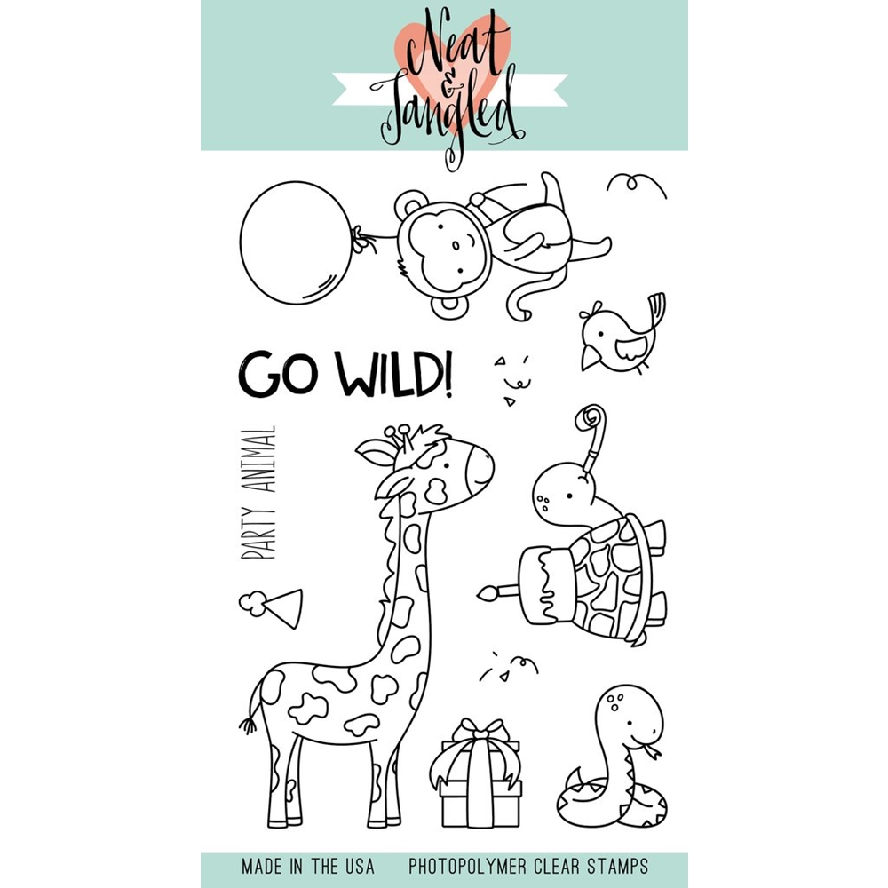Neat and Tangled WILD ONES Clear Stamp Set NAT295 zoom image