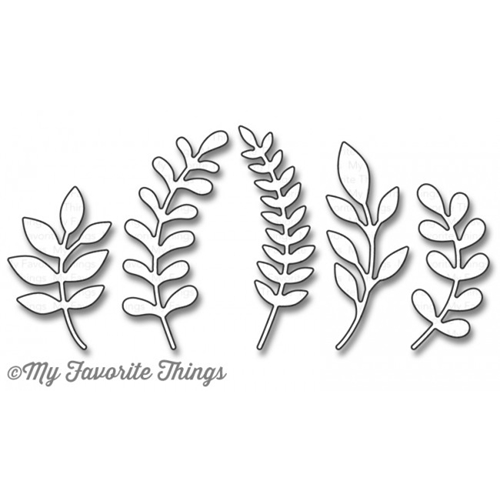 My Favorite Things FAB FOLIAGE Die-Namics MFT1165 Preview Image