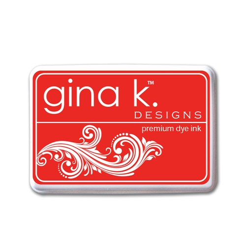 Gina K Designs RED HOT PREMIUM DYE Color Companions Ink Pad 0748 Preview Image