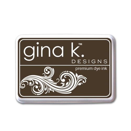 Gina K Designs CHARCOAL BROWN PREMIUM DYE Color Companions Ink Pad 0991 Preview Image