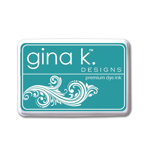 Gina K Designs TURQUOISE SEA PREMIUM DYE Color Companions Ink Pad 0694 Preview Image