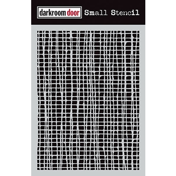 Darkroom Door MESH Small Stencil DDSS001