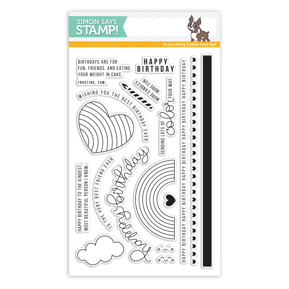 Simon Says Clear Stamps BEST EVER SSS101710 zoom image