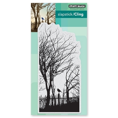 Penny Black Cling Stamp PEACEFUL MOMENT 40-569* Preview Image