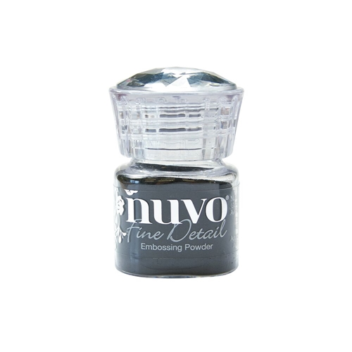 Tonic JET BLACK Nuvo Fine Detail Embossing Powder 587N Preview Image