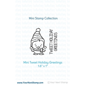 Your Next Stamp MINI TWEET HOLIDAY Clear CYNS513*
