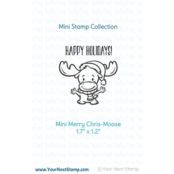 Your Next Stamp MINI MERRY CHRIS-MOOSE Clear CYNS494