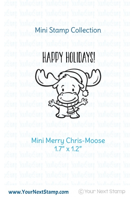 Your Next Stamp MINI MERRY CHRIS-MOOSE Clear CYNS494 zoom image