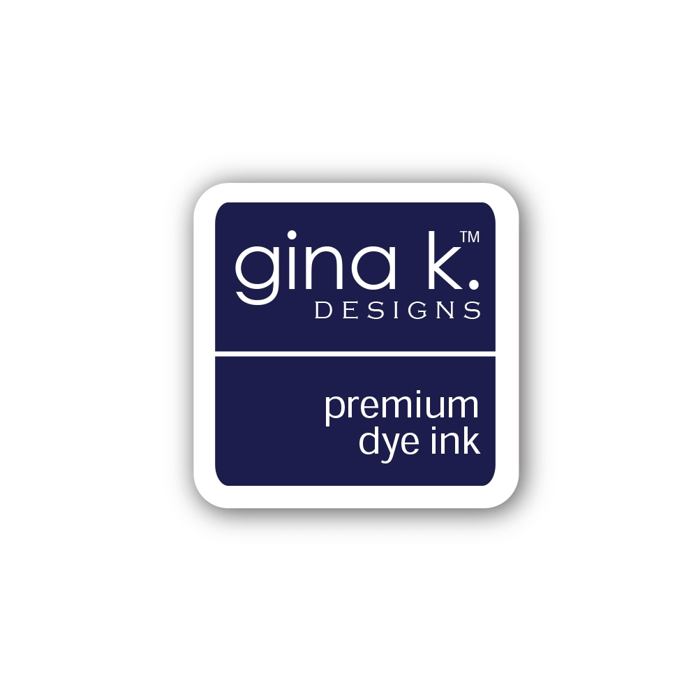 Gina K Designs BLUE DENIM Color Companions Mini Ink Pad CUBE26 zoom image
