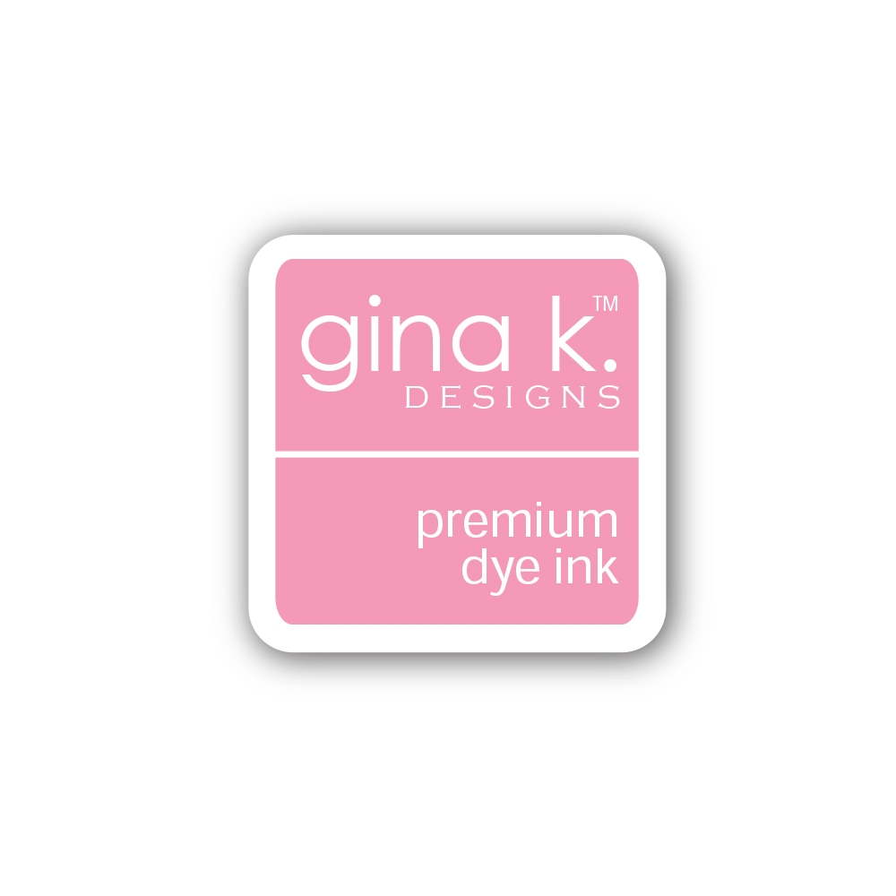 Gina K Designs BUBBLEGUM PINK Color Companions Mini Ink Pad CUBE10 zoom image