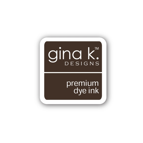 Gina K Designs CHARCOAL BROWN Color Companions Mini Ink Pad CUBE29 Preview Image