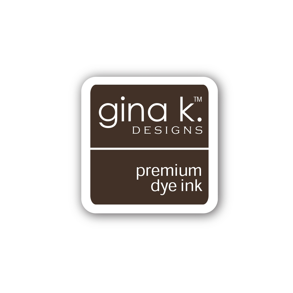 Gina K Designs CHARCOAL BROWN Color Companions Mini Ink Pad CUBE29 zoom image