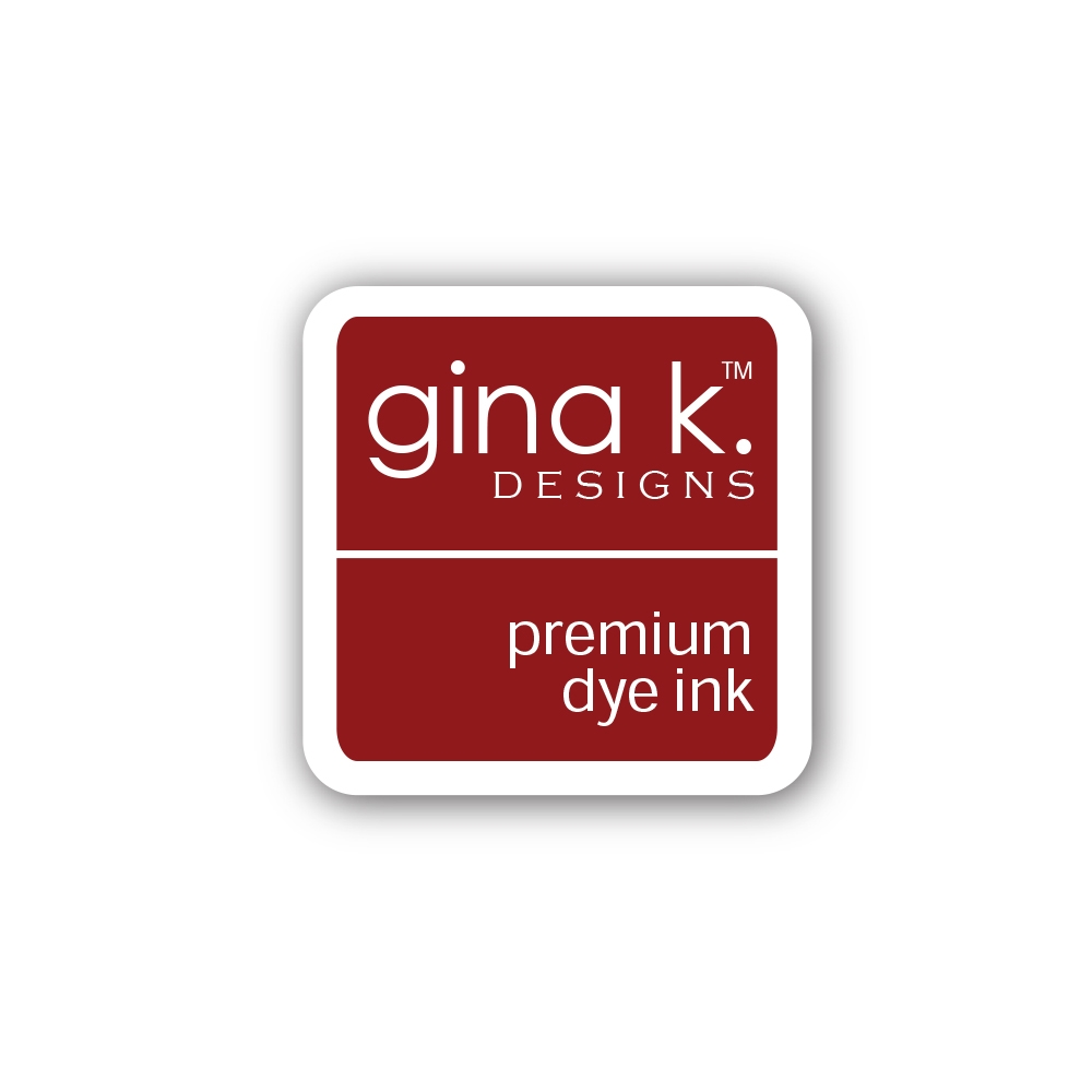 Gina K Designs CHERRY RED Color Companions Mini Ink Pad CUBE1 zoom image