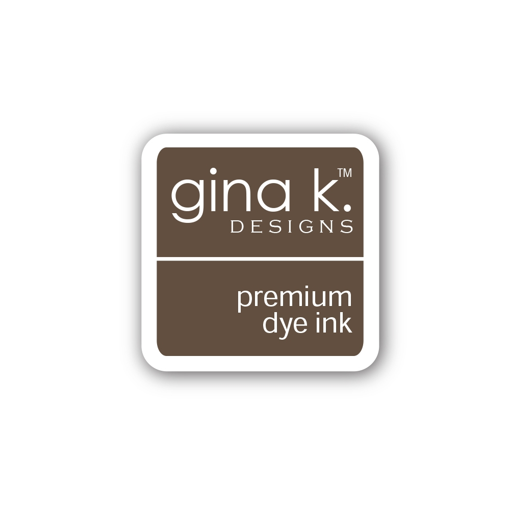 Gina K Designs DARK CHOCOLATE Color Companions Mini Ink Pad CUBE24 zoom image