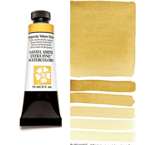 Daniel Smith BURGUNDY YELLOW OCHRE 15ML Extra Fine Watercolor 284600147* Preview Image