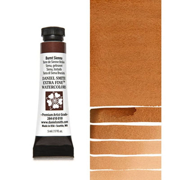Daniel Smith BURNT SIENNA 5ml Extra Fine Watercolor 284610010 zoom image