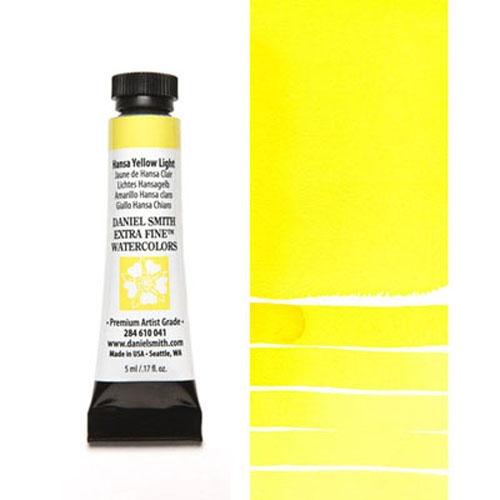 Daniel Smith HANSA YELLOW LIGHT 5ML Extra Fine Watercolor 284610041 Preview Image