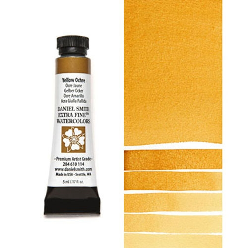 Daniel Smith YELLOW OCHRE 5ML Extra Fine Watercolor 284610114 Preview Image