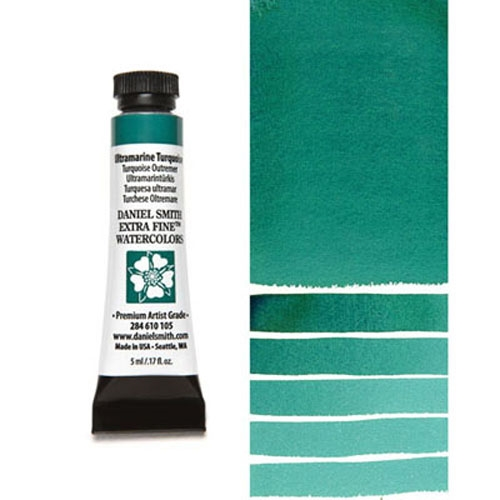 Daniel Smith ULTRAMARINE TURQUOISE 5ML Extra Fine Watercolor 284610105 Preview Image