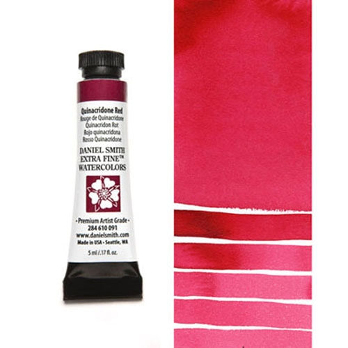 Daniel Smith QUINACRIDONE RED 5ML Extra Fine Watercolor 284610091 zoom image