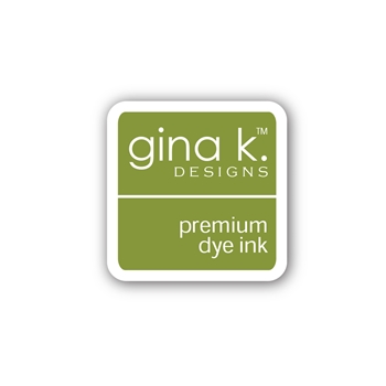 Gina K Designs JELLY BEAN GREEN Color Companions Mini Ink Pad CUBE38
