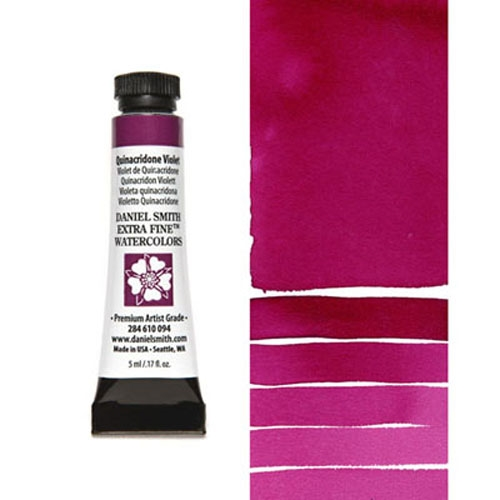 Daniel Smith QUINACRIDONE VIOLET 5ML Extra Fine Watercolor 284610094 Preview Image