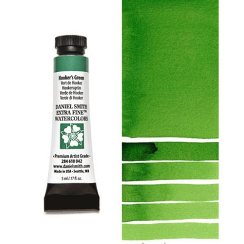Daniel Smith HOOKERS GREEN 5ML Extra Fine Watercolor 284610042 Preview Image