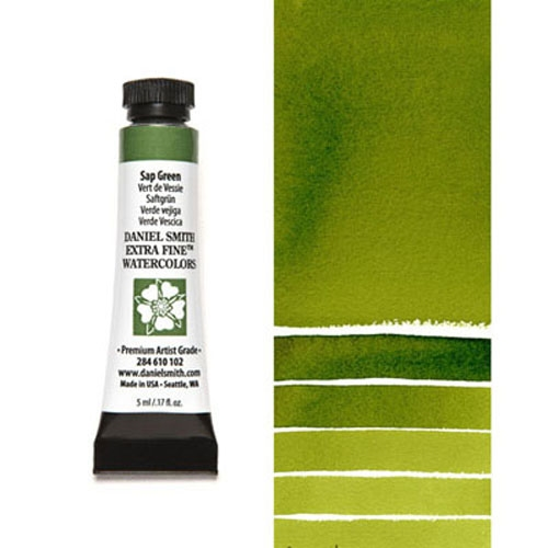 Daniel Smith SAP GREEN 5ML Extra Fine Watercolor 284610102 Preview Image