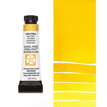 Daniel Smith INDIAN YELLOW 5ML Extra Fine Watercolor 284610045