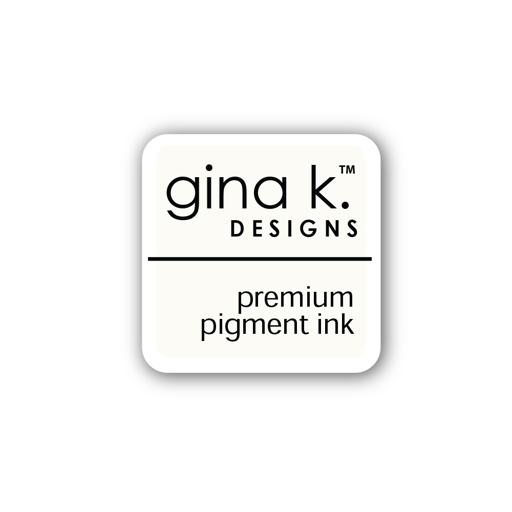 Gina K Designs WHITE Color Companions Mini Ink Pad CUBE31 zoom image