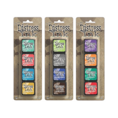 Tim Holtz MINI DISTRESS INK PADS SETS 13, 14 AND 15 Ranger Ranger105 Preview Image