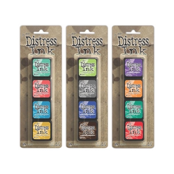 Tim Holtz MINI DISTRESS INK PADS SETS 13, 14 AND 15 Ranger Ranger105