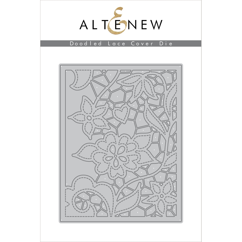Altenew DOODLE LACE COVER PLATE Die ALT1838 zoom image
