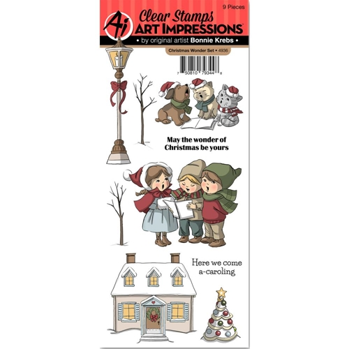 Art Impressions CHRISTMAS WONDER Clear Stamps 4936 Preview Image