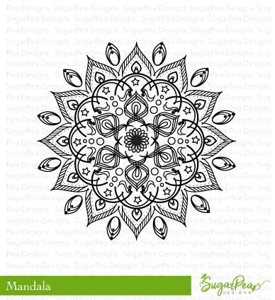 SugarPea Designs MANDALA Clear Stamp Set SPD-00244 zoom image