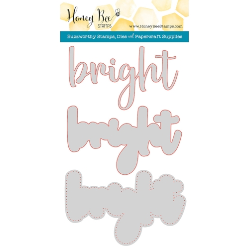 Honey Bee BRIGHT Dies HBDS-74* Preview Image