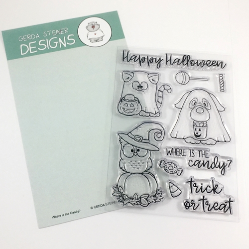 Gerda Steiner Designs WHERE IS THE CANDY? Clear Stamp Set GSD613 Preview Image