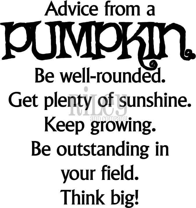 Riley And Company Funny Bones ADVICE FROM A PUMPKIN Cling Rubber Stamp RWD-596 zoom image