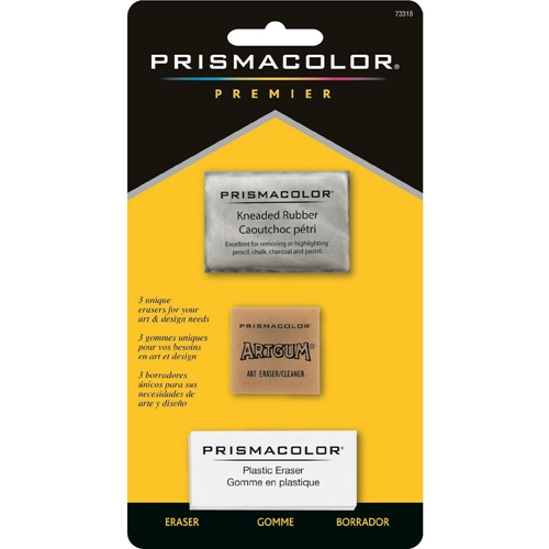 Prismacolor Premier 3 ART ERASERS MULTI-PACK 73318 Preview Image