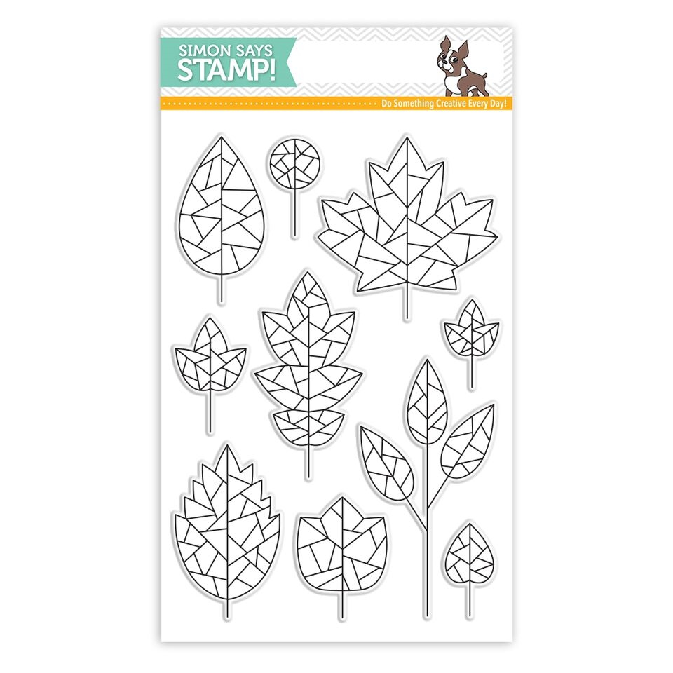 Simon Says Clear Stamps FRACTILE LEAVES SSS101753 * zoom image