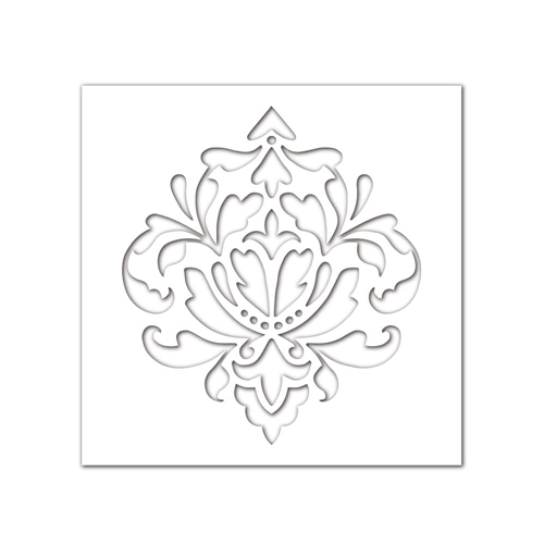Simon Says Stamp Stencil DAMASK SSST121397 * Preview Image