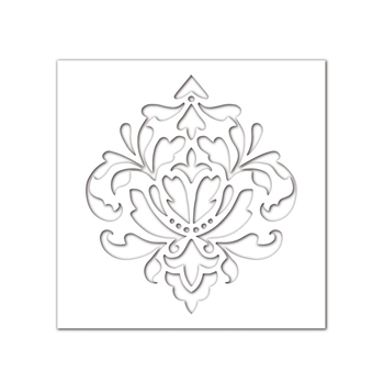 Simon Says Stamp Stencil DAMASK SSST121397 *