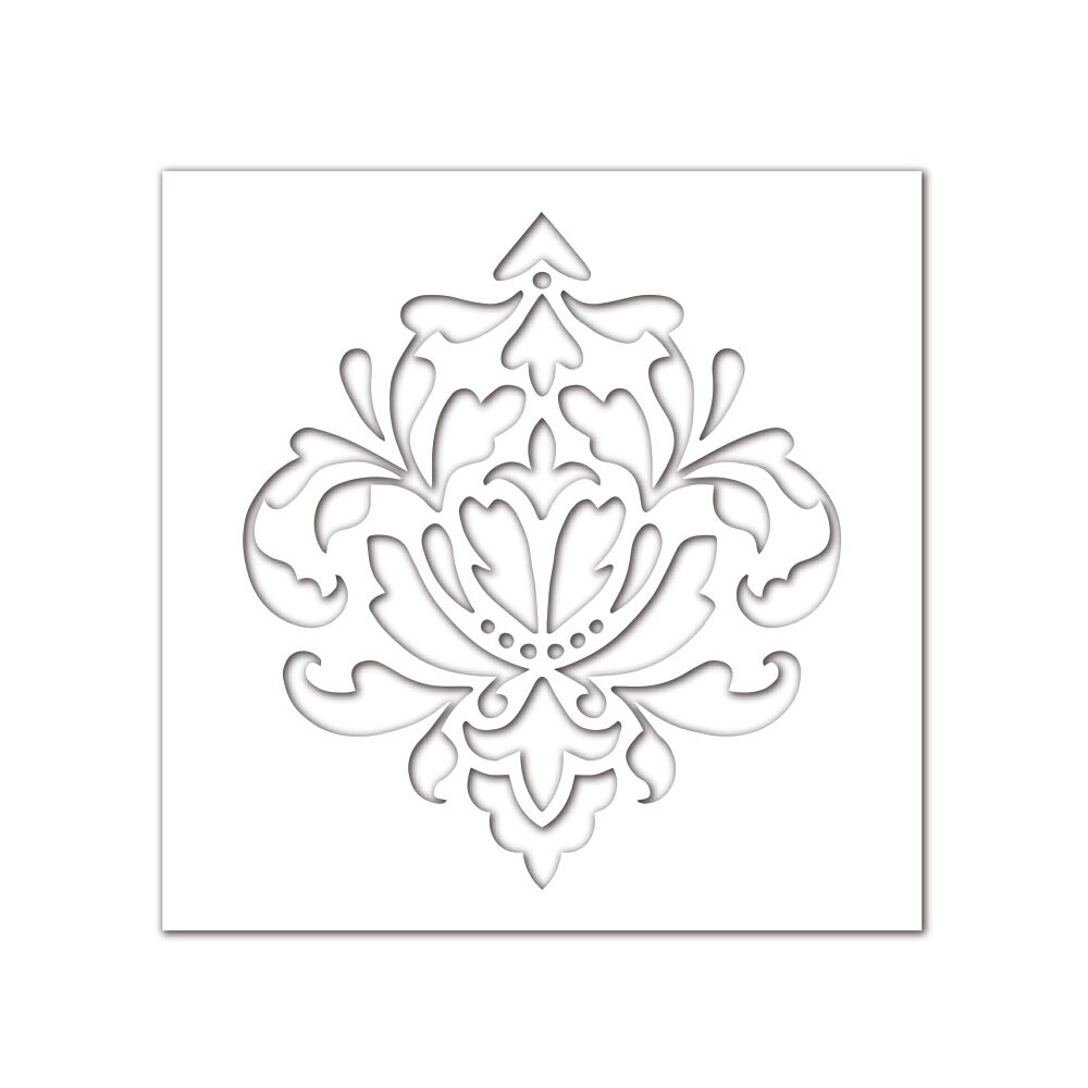 Simon Says Stamp Stencil DAMASK SSST121397 * zoom image