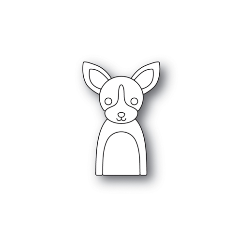 Simon Says Stamp PICTURE BOOK CHIHUAHUA Wafer Dies S468 Preview Image