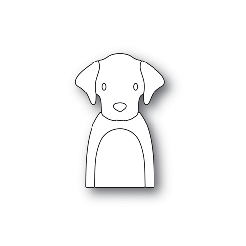 Simon Says Stamp PICTURE BOOK LABRADOR Wafer Dies S469 Preview Image