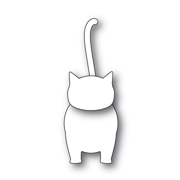 Simon Says Stamp KITTY CAT Wafer Dies S470